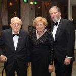 Dr. Mihran Agbabian (AUA Co-founder and former President), Elizabeth Agbabian (Gala Committee), John Marshall Evans (former US Ambassador to Armenia)