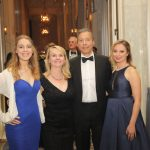 Frederic Martin and Cynthia Cwik with Family (Gala Platimum Donors)