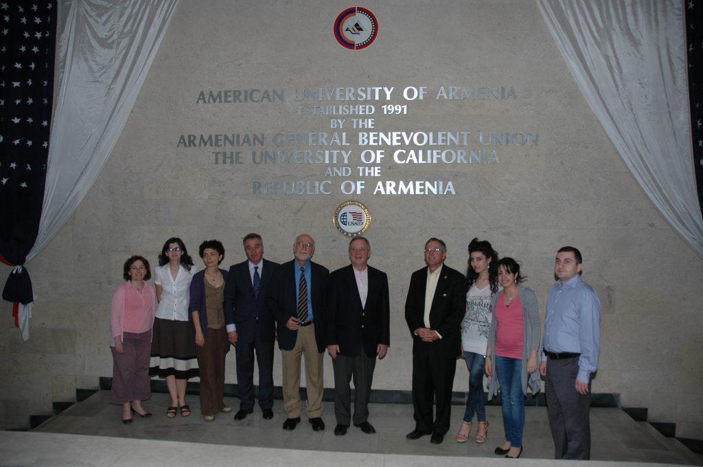 Tsovinar Harutyunyan, Varduhi Petrosyan, Ashot Ghazaryan, Armen Der Kiureghian, John Heffern (3)